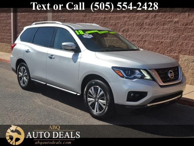 2018 Nissan Pathfinder Our One Owner Accident Free 2018 Nissan Pathfinder SV in Brilliant Silver is