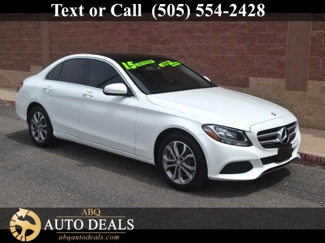 2015 Mercedes C-Class The benchmark of automotive perfection our One Owner Accident Free 2015 Merce