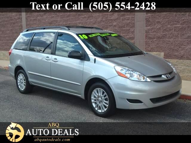 2010 Toyota Sienna Our One Owner Accident Free 2010 Toyota Sienna LE AWD in Slate Metallic is the v
