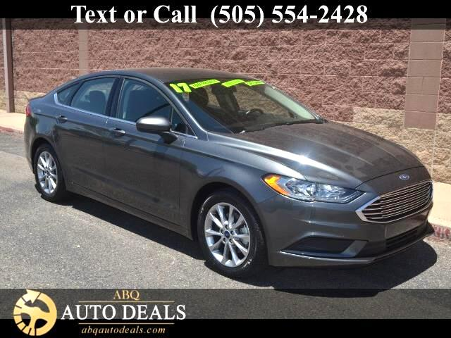 2017 Ford Fusion Discover excellence in our One Owner Accident Free 2017 Ford Fusion SE Sedan prese