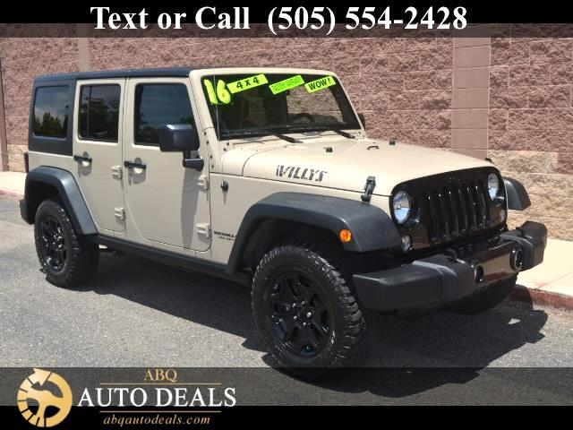 2016 Jeep Wrangler Handsome and ready to roll our One Owner Accident Free 2016 Jeep Wrangler Unlimi