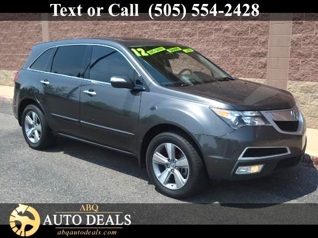 2012 Acura MDX Our Accident Free 2012 Acura MDX Super Handling All Wheel Drive with the Technology