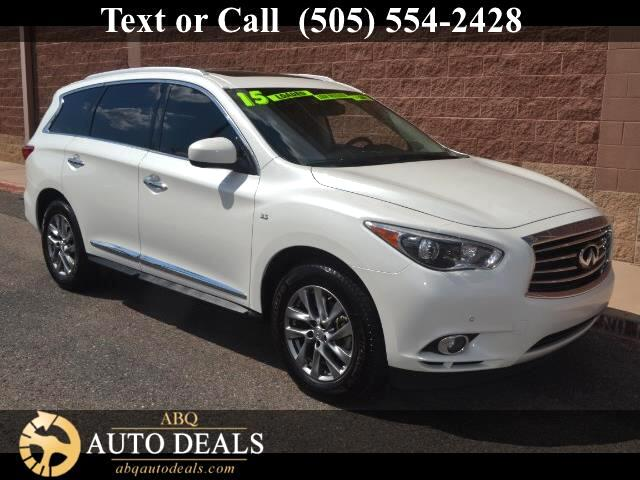 2015 Infiniti QX60 A superb choice for your transportation needs our One Owner Accident Free 2015 I