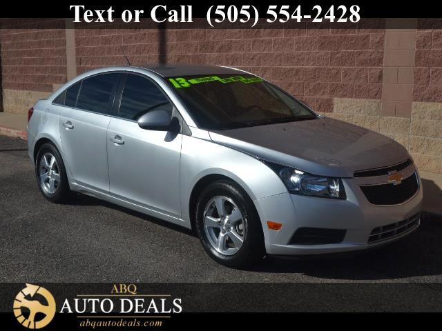 2013 Chevrolet Cruze Enjoy our 2013 Chevrolet Cruze 1LT sedan shown flaunting both its refined and