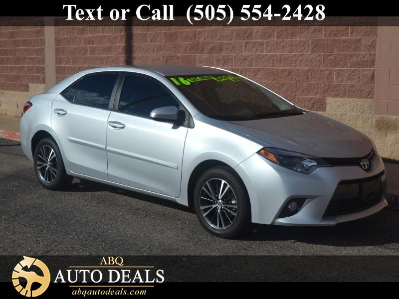 2016 Toyota Corolla With proven reliability and masterful craftsmanship our One Owner Accident Free