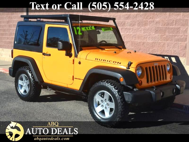 2012 Jeep Wrangler Say hello to our 2012 Jeep Wrangler Rubicon 4x4 shown in our rugged looking Crus