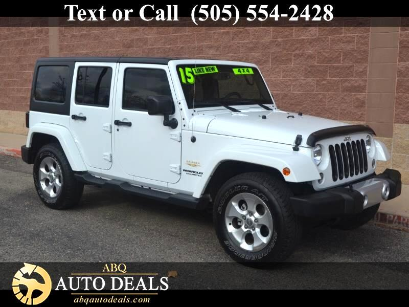 2015 Jeep Wrangler Ruggedly handsome in Bright White Clearcoat our One Owner Accident Free 2015 Jee