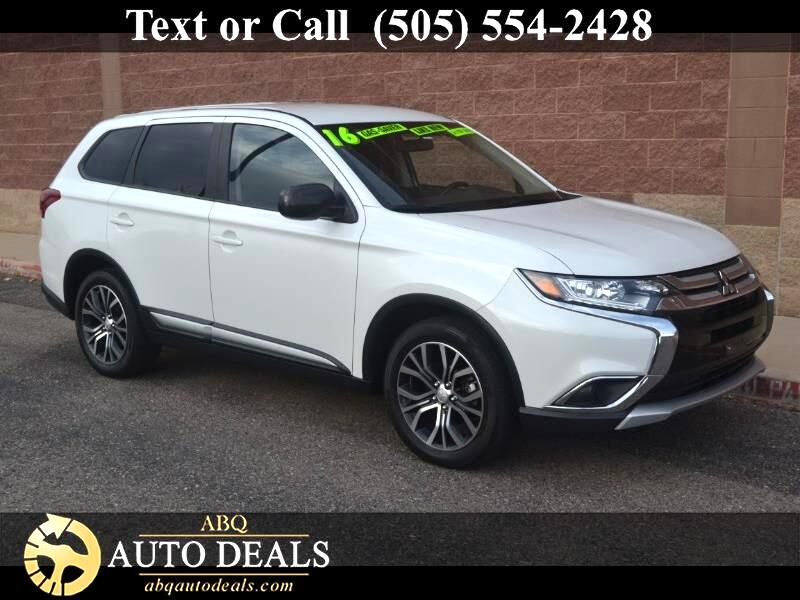 2016 Mitsubishi Outlander VIN JA4AD2A33GZ000376 38k miles Options Air Conditioning Alarm Syst