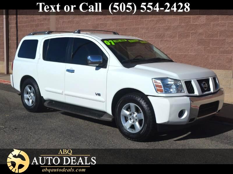 2007 Nissan Armada There is nothing subtle about this Accident Free 2007 Nissan Armada SE 4X2 in Bl