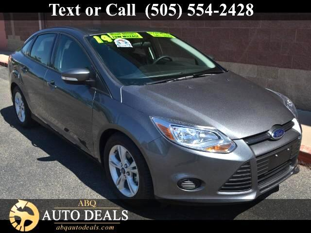 2014 Ford Focus Meet our One Owner Accident Free 2014 Ford Focus SE Sedan viewed in Sterling Gray
