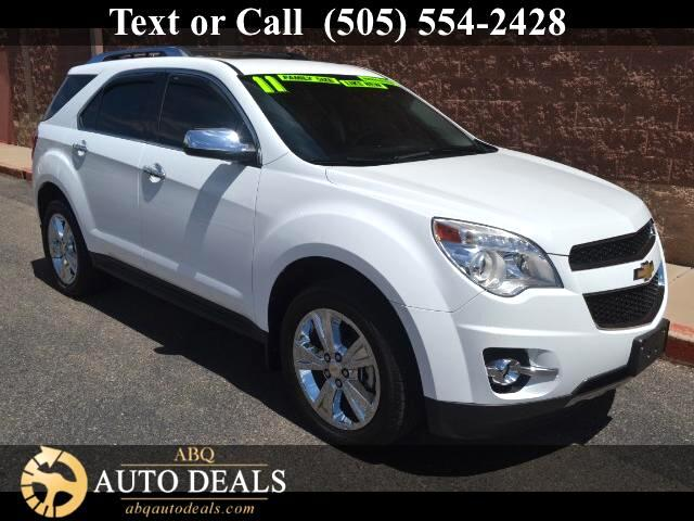 2011 Chevrolet Equinox Our 2011 Chevrolet Equinox LTZ All Wheel Drive in Summit White is a competit