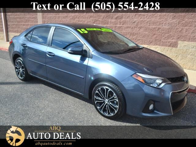 2015 Toyota Corolla Our incredible 2015 Toyota Corolla S Plus in Slate Metallic is eager to please