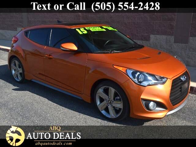 2015 Hyundai Veloster Put some stand-out style in your daily commute with our Accident Free 2015 Hy