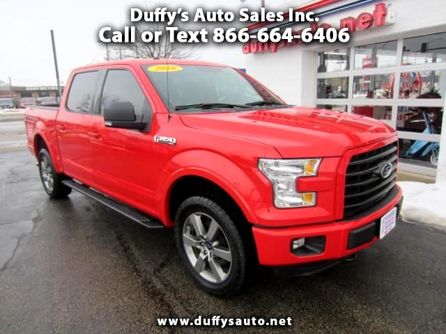 2016 Ford F-150 XLT Sport SuperCrew 4WD