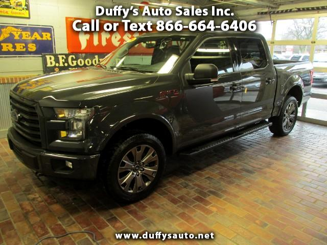 2016 Ford F-150 XLT SuperCrew Sport 5.5 ft Bed 4WD