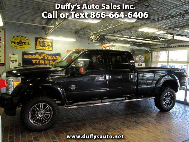 2015 Ford F-350 SD Platinum CrewCab Long Bed 4WD