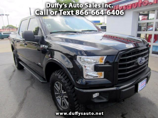 2015 Ford F-150 XLT SuperCrew Sport 5.5-ft. Bed 4WD