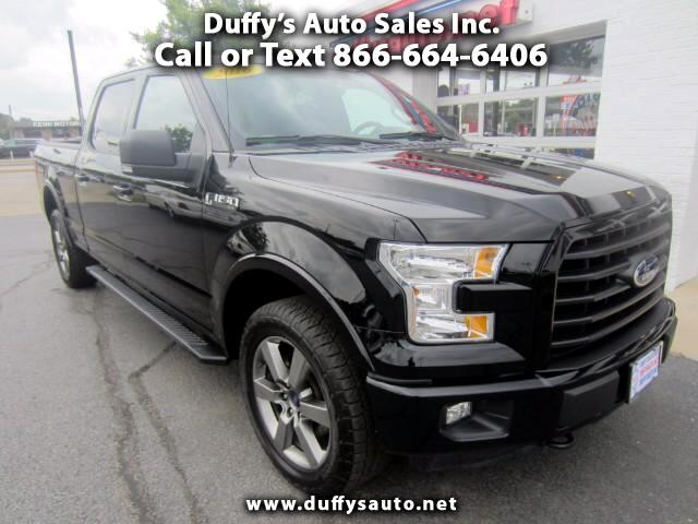 2016 Ford F-150 SuperCrew Sport 6.5-ft Bed