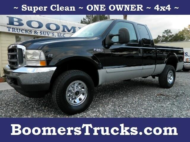 "2002 Ford Super Duty F-250 4WD SuperCab 142"" XLT"