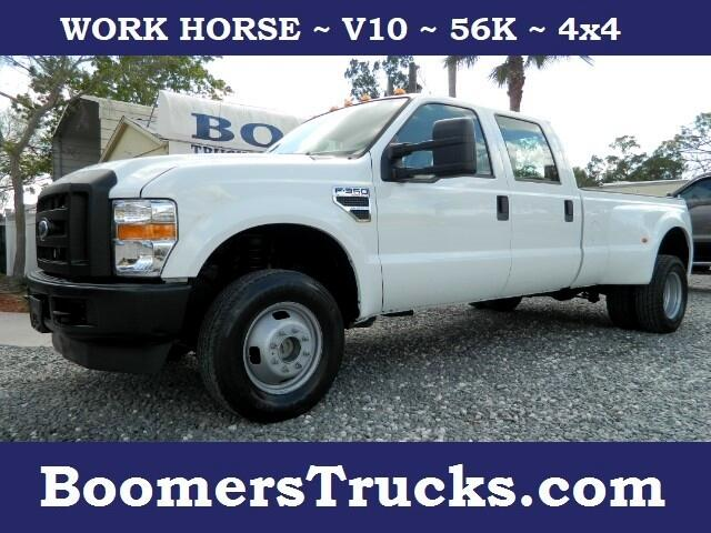 2009 Ford F-350 SD XL Crew Cab Long Bed DRW 4WD