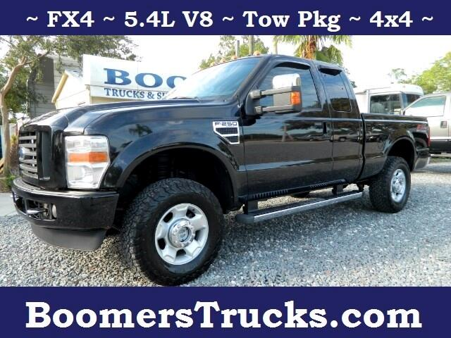 2009 Ford F-250 SD FX4 SuperCab 4WD