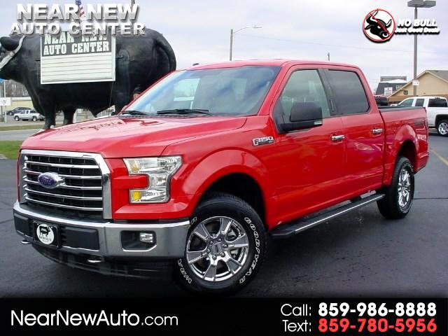 2017 Ford F-150 XLT 4x4 SuperCrew