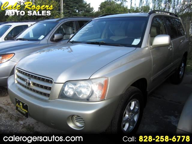 Buy Here Pay Here 2003 Toyota Highlander For Sale In Asheville Nc