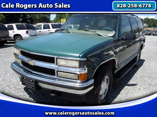 buy here pay here 1997 chevrolet tahoe for sale in asheville nc 28806 cale rogers auto sales. Black Bedroom Furniture Sets. Home Design Ideas