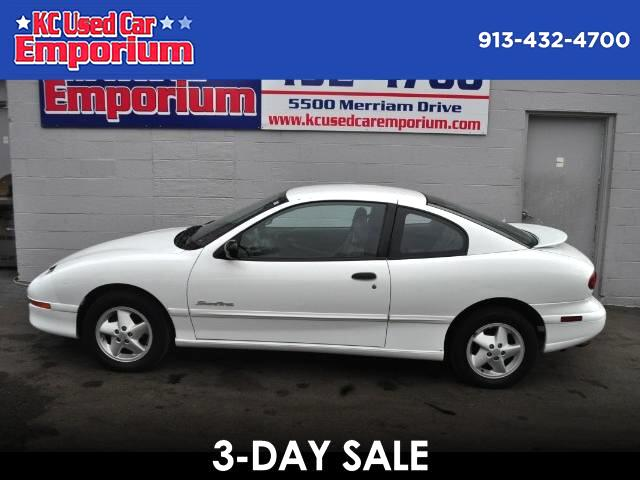 1999 Pontiac Sunfire SE coupe