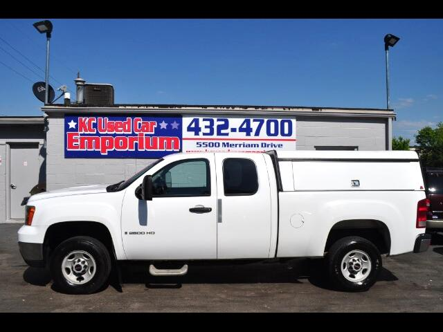 2009 GMC Sierra 2500HD Work Truck Ext. Cab Long Box 2WD