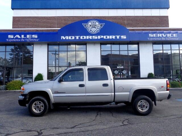 used 2005 gmc sierra 2500hd work truck crew cab short bed 4wd for sale in lowell ma 01851 the. Black Bedroom Furniture Sets. Home Design Ideas