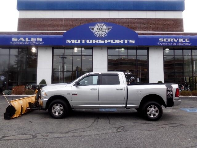 Used 2012 dodge ram 2500 slt crew cab swb 4wd for sale in for Motor vehicle lowell ma