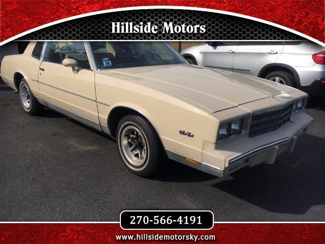 1981 Chevrolet Monte Carlo Base