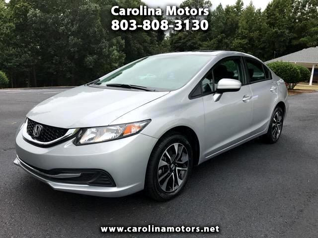 2015 Honda Civic EX sedan AT