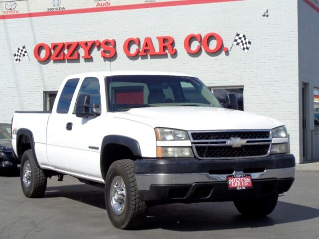 2006 Chevrolet Silverado 2500HD Work Truck Ext. Cab Long Bed 4WD