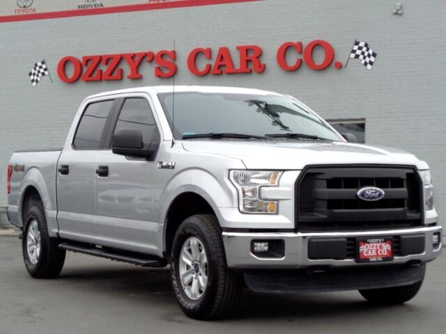 "2016 Ford F-150 4WD SuperCrew 145"" XL Power and Towing Group"