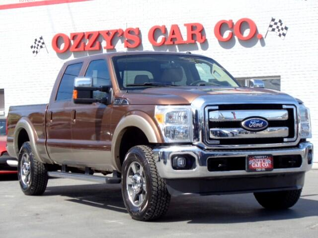 2011 Ford F-250 SD Lariat Crew Cab Long Bed 4WD
