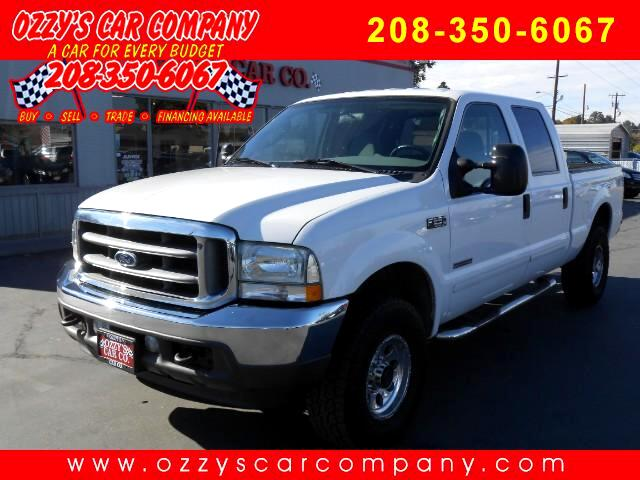 2003 Ford F-250 SD XLT Crew Cab Short Bed 4WD