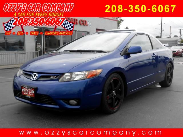 2008 Honda Civic Si Coupe with Navigation and Performance Tires