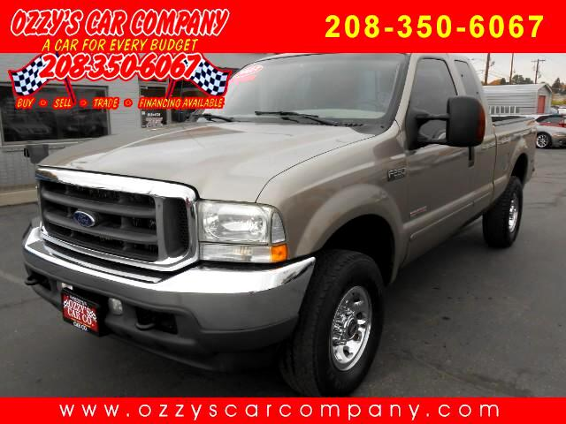 2003 Ford F-250 SD XLT SuperCab SWB 4WD