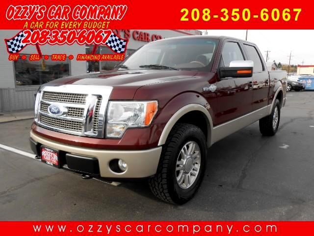 2010 Ford F-150 King-Ranch SuperCrew 5.5-ft. Bed 4WD