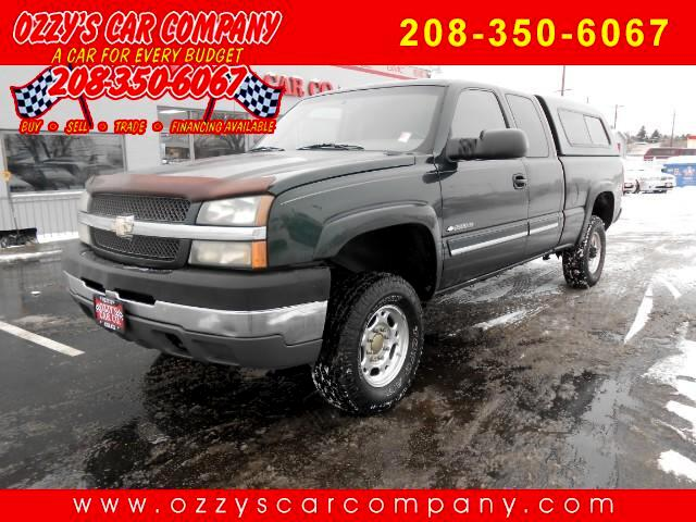 2003 Chevrolet Silverado 2500HD LT Ext. Cab Short Bed 4WD