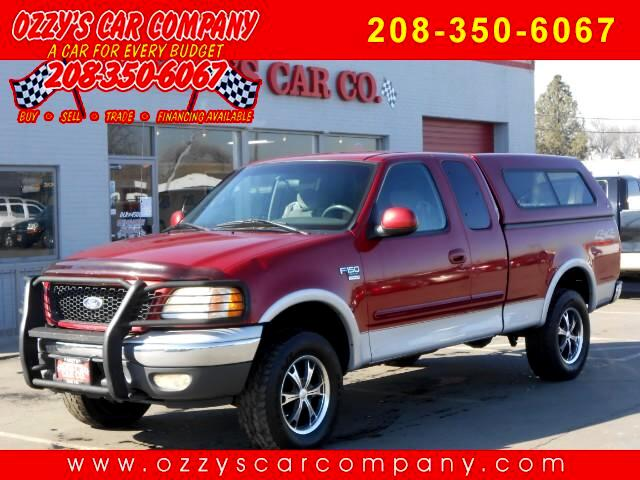 2001 Ford F-150 XLT SuperCab Short Bed 4WD