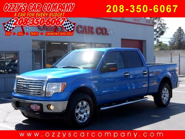 2012 Ford F-150 XLT SuperCrew 6.5-ft Box 4WD
