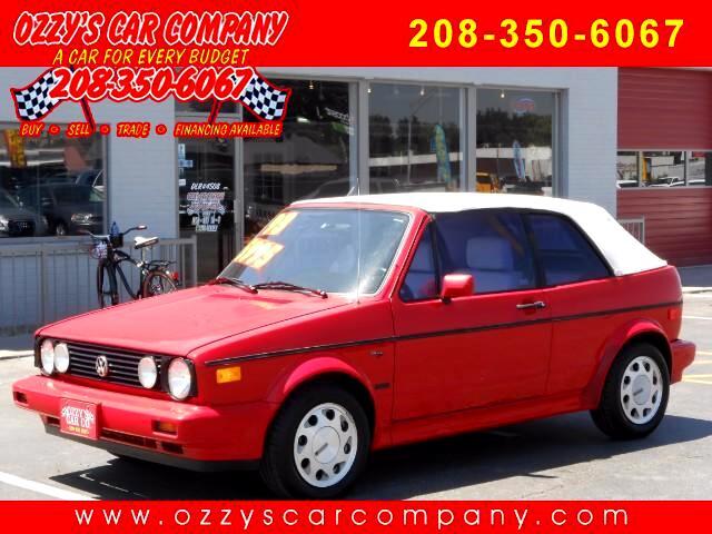 1993 Volkswagen Cabriolet Base