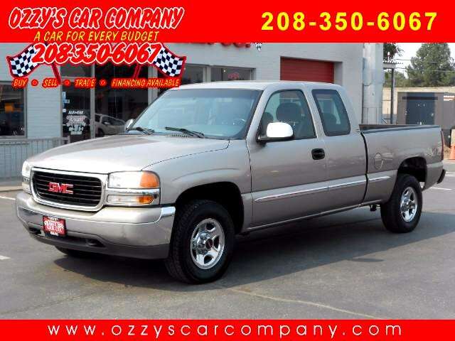 2000 GMC Sierra 1500 SLE Ext. Cab 3-Door Long Bed 4WD