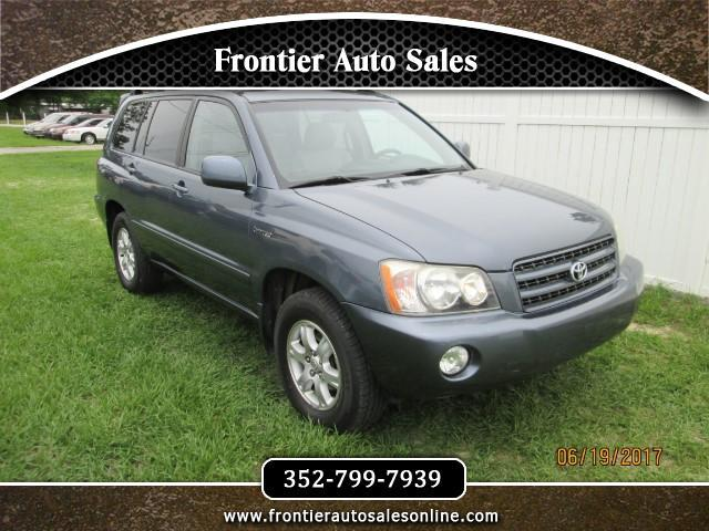 2002 Toyota Highlander Limited V6 2WD