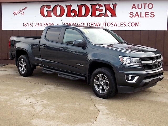 2017 Chevrolet Colorado Z71 Crew Cab 4x4