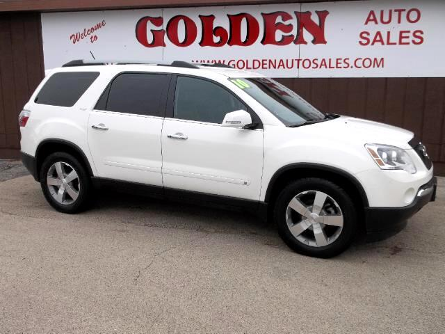 used 2010 gmc acadia slt 1 awd for sale in byron il 61010 golden auto sales. Black Bedroom Furniture Sets. Home Design Ideas