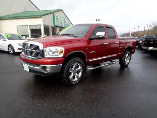 2008 Dodge Ram 1500 SLT QUAD CAB 4WD HEMI CHROME PACKAGE SHARP